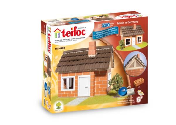 Конструктор с тухлички - Къща с рамка на покрива